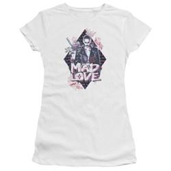 Suicide Squad - Juniors Mad Love Premium Bella T-Shirt