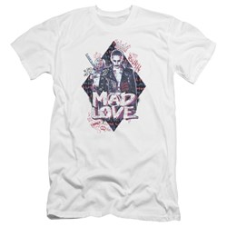 Suicide Squad - Mens Mad Love Premium Slim Fit T-Shirt