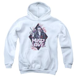 Suicide Squad - Youth Mad Love Pullover Hoodie
