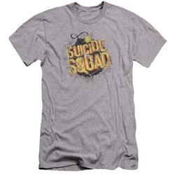 Suicide Squad - Mens Vintage Bomb Premium Slim Fit T-Shirt