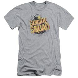 Suicide Squad - Mens Vintage Bomb Slim Fit T-Shirt