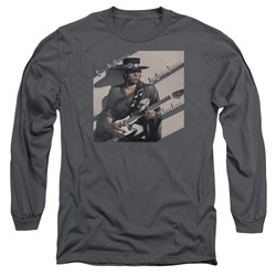 Stevie Ray Vaughan - Mens Texas Flood Long Sleeve T-Shirt