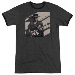 Stevie Ray Vaughan - Mens Texas Flood Ringer T-Shirt