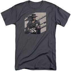 Stevie Ray Vaughan - Mens Texas Flood Tall T-Shirt