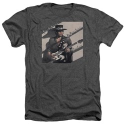 Stevie Ray Vaughan - Mens Texas Flood Heather T-Shirt