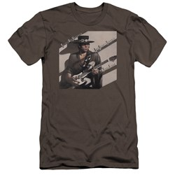 Stevie Ray Vaughan - Mens Texas Flood Premium Slim Fit T-Shirt