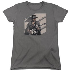 Stevie Ray Vaughan - Womens Texas Flood T-Shirt