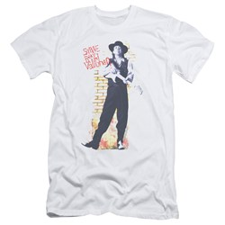 Stevie Ray Vaughan - Mens Standing Tall Slim Fit T-Shirt