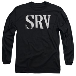 Stevie Ray Vaughan - Mens Srv Long Sleeve T-Shirt
