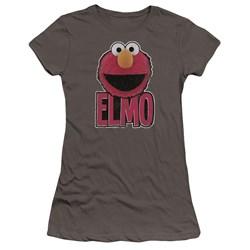 Sesame Street - Juniors Elmo Smile Premium Bella T-Shirt