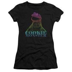Sesame Street - Juniors Cm Halftone Premium Bella T-Shirt