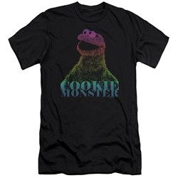 Sesame Street - Mens Cm Halftone Premium Slim Fit T-Shirt