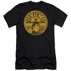 Sun - Mens Elvis Full Sun Label Premium Slim Fit T-Shirt