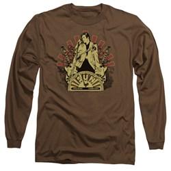Sun - Mens Elvis Rising Long Sleeve T-Shirt