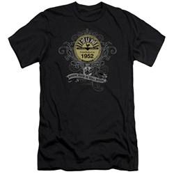 Sun - Mens Rockin Scrolls Premium Slim Fit T-Shirt