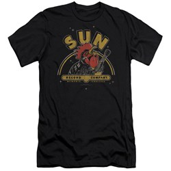 Sun - Mens Rocking Rooster Premium Slim Fit T-Shirt