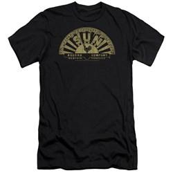Sun - Mens Tattered Logo Premium Slim Fit T-Shirt