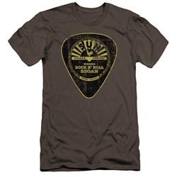 Sun - Mens Guitar Pick Premium Slim Fit T-Shirt