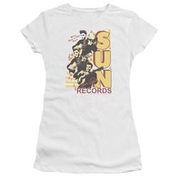 Sun - Juniors Tri Elvis Premium Bella T-Shirt