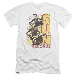 Sun - Mens Tri Elvis Premium Slim Fit T-Shirt