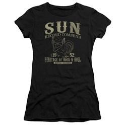 Sun Records - Juniors Rockabilly Bird Premium Bella T-Shirt