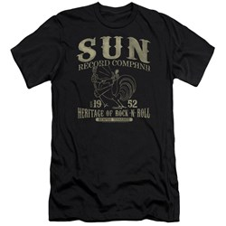 Sun Records - Mens Rockabilly Bird Premium Slim Fit T-Shirt