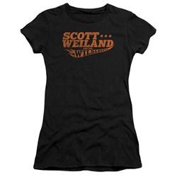 Scott Weiland - Juniors Logo Premium Bella T-Shirt