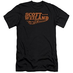 Scott Weiland - Mens Logo Premium Slim Fit T-Shirt