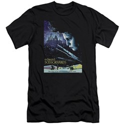 Edward Scissorhands - Mens Poster Premium Slim Fit T-Shirt