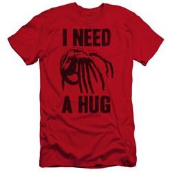 Alien - Mens Need A Hug Premium Slim Fit T-Shirt