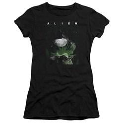 Alien - Juniors Take A Peak Premium Bella T-Shirt