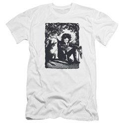 Edward Scissorhands - Mens Lucky Dog Premium Slim Fit T-Shirt