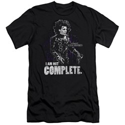 Edward Scissorhands - Mens Not Complete Premium Slim Fit T-Shirt