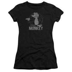 Family Guy - Juniors Evil Monkey Premium Bella T-Shirt