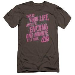 Fight Club - Mens Life Ending Premium Slim Fit T-Shirt