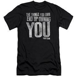 Fight Club - Mens Owning You Premium Slim Fit T-Shirt