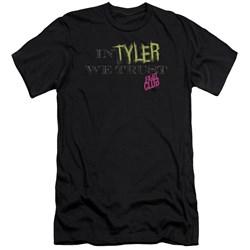 Fight Club - Mens In Tyler We Trust Premium Slim Fit T-Shirt