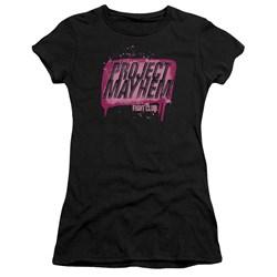 Fight Club - Juniors Project Mayhem Premium Bella T-Shirt