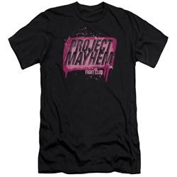 Fight Club - Mens Project Mayhem Premium Slim Fit T-Shirt