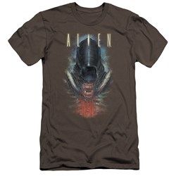 Alien - Mens Bloody Jaw Premium Slim Fit T-Shirt