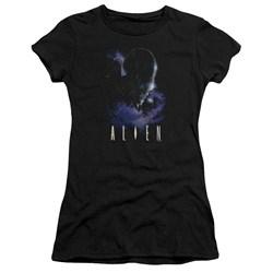Alien - Juniors In Space Premium Bella T-Shirt