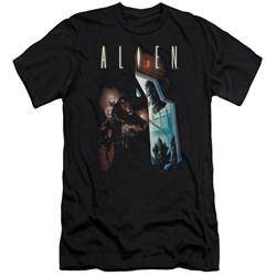 Alien - Mens Around The Corner Premium Slim Fit T-Shirt