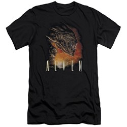 Alien - Mens Fangs Premium Slim Fit T-Shirt