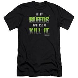Predator - Mens If It Bleeds Premium Slim Fit T-Shirt