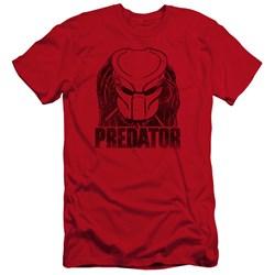 Predator - Mens Logo Premium Slim Fit T-Shirt