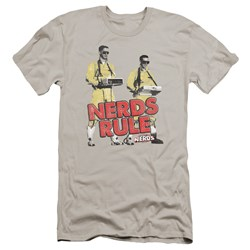 Revenge Of The Nerds - Mens Nerds Rule Premium Slim Fit T-Shirt