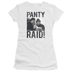 Revenge Of The Nerds - Juniors Panty Raid Premium Bella T-Shirt