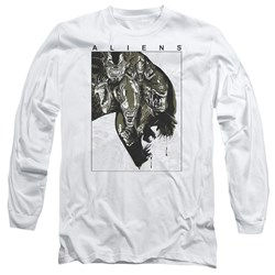 Aliens - Mens Aliens Inside Long Sleeve T-Shirt