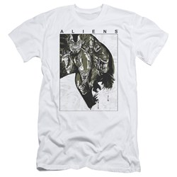 Aliens - Mens Aliens Inside Slim Fit T-Shirt