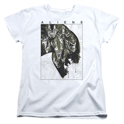 Aliens - Womens Aliens Inside T-Shirt